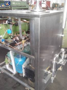 Produtora de sorvete continua Tetra Pak modelo GM 300