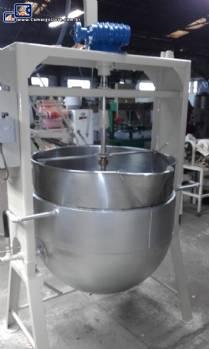 Tacho para doce 300 litros aço inox