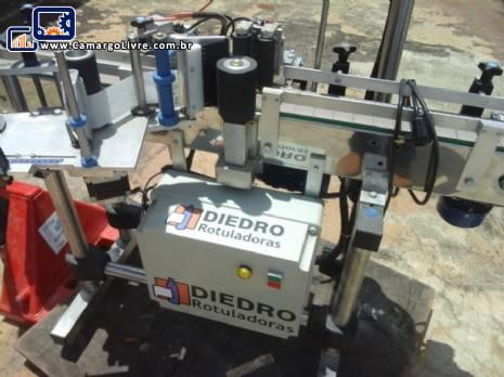 Rotuladora automática básica Diedro - Nova sem uso