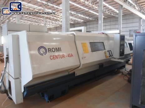 Torno CNC Romi Centur 45 A