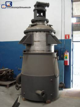 Reator em aço inox 1250 L