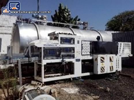 Conjunto de máquinas para fabricação de sucos