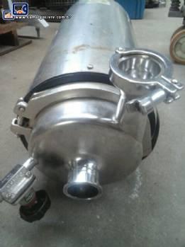Bomba de transferência em inox sanitária Plumat