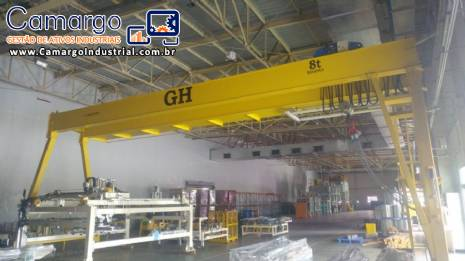 Pórtico 8 toneladas GH