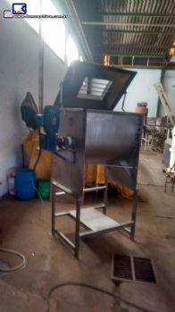 Misturador Ribbon Blender em aço inox