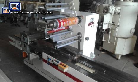 Embaladora flow pack Gotesp modelo Speed Pack 300