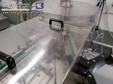 Lavadora de frascos de vidro Bausch