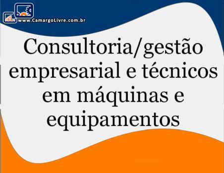 Técnicos especializados para formação operacional de máquinas