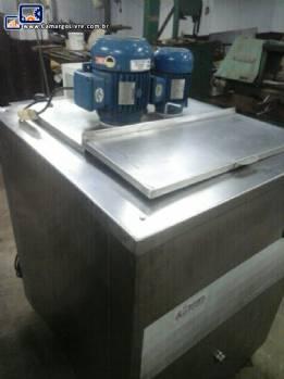 Pasteurizadora 150 L Refrigas aquecimento a gás