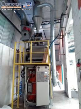 Sistema micronizador para 450 kg h Rotoline