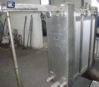 Trocador de calor em inox Alfa Laval