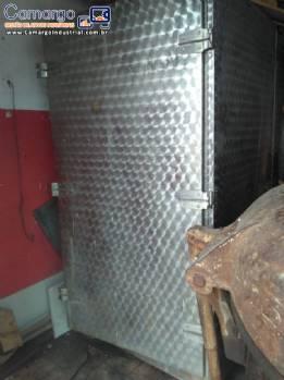 Estufas para presuntadeira e cutter de carnes