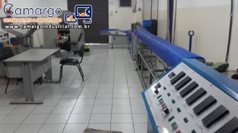 Fábrica de canudos plásticos