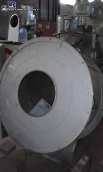 Drageadeira em aço carbono 100 litros