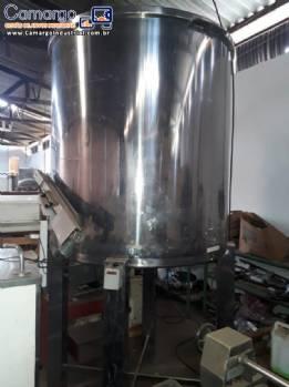 Tanque em aço inox 2600 L