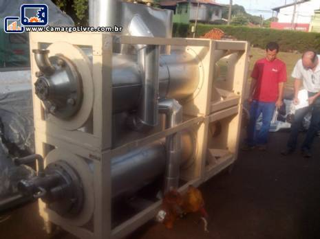 Sistemas de raspadores de frio para produção de gelados