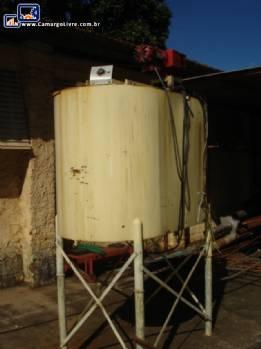 Tanques de armazenamento com aquecimento 100 litros