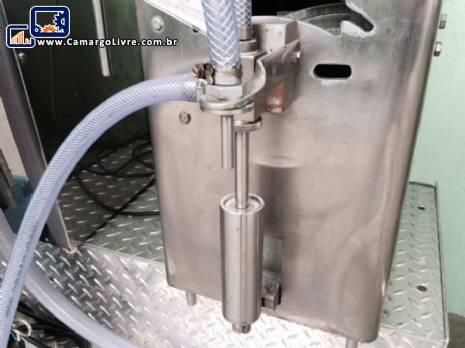 Envasadora bancada pistão para 250 ml