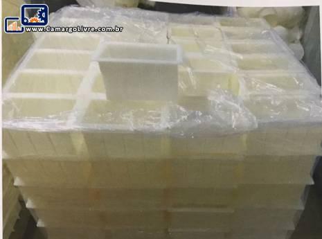 Linha para fabricação de queijo